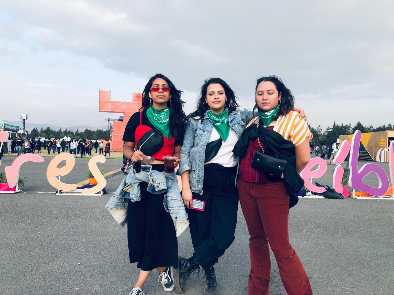 Resultado de imagen para marea verde ceremonia 2019