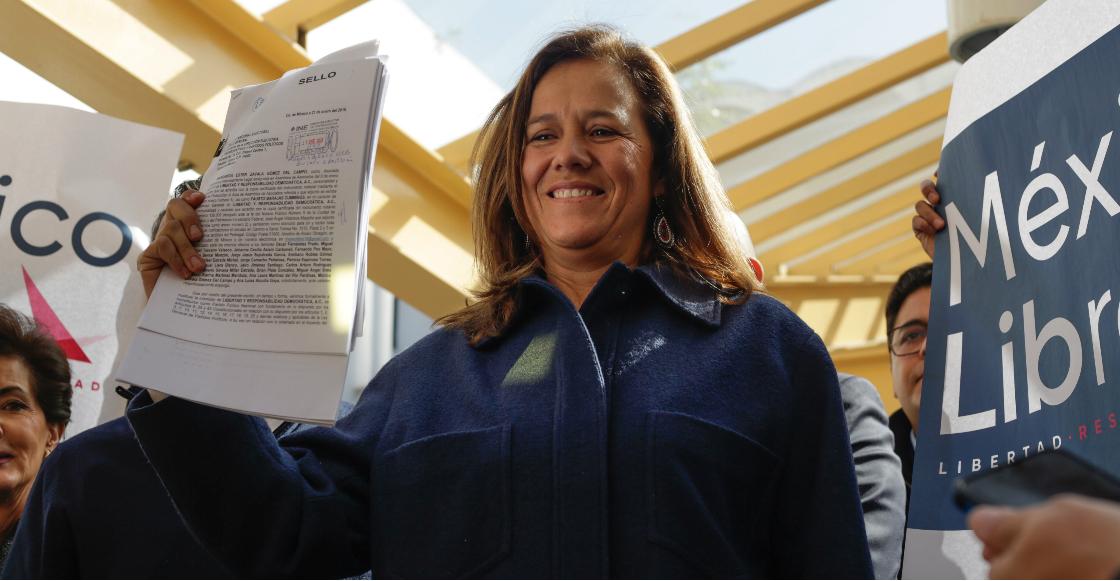 Tribunal ordena recalcular multa Margarita Zavala por irregularidades en su candidatura