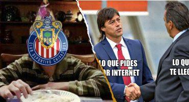 Tomás Boy se convirtió en 'El Jefe' de los memes tras llegar a las Chivas