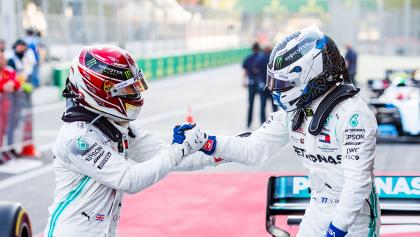Mercedes vuelve a hacer el 1-2 en Azerbaiyán y hace predecible (y aburrido) el campeonato de F1