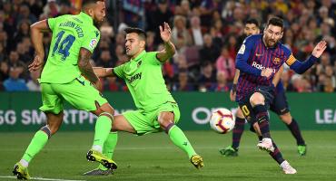El golazo con el que Messi convirtió al Barcelona en campeón de la liga española 🙌