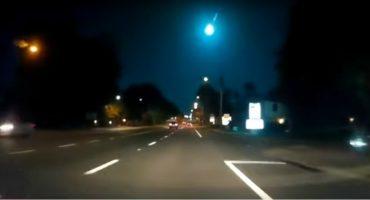 Un meteorito cayó en Florida, Estados Unidos, y se ve impresionante