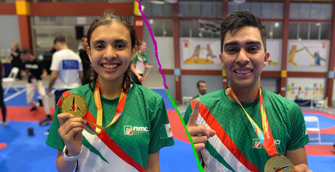 10 medallas de oro para México en el Abierto de Taekwondo de Puerto Rico