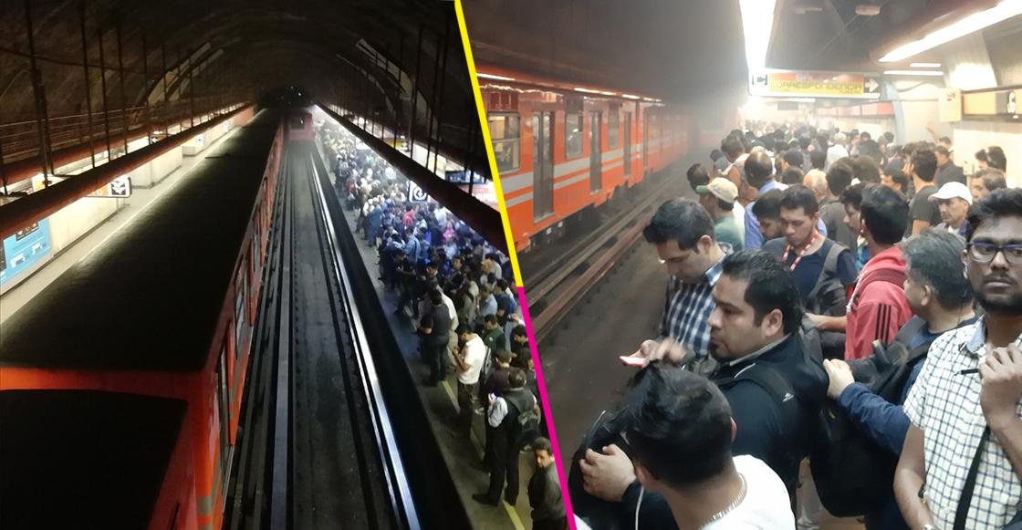 Reportan humo en estación Mixcoac de la L7 del Metro; el servicio está detenido