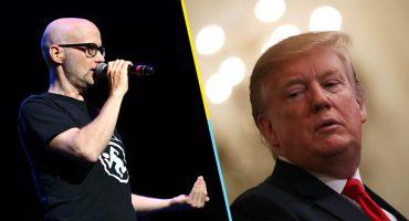 Moby revela que una vez frotó sus genitales contra Donald Trump 😶