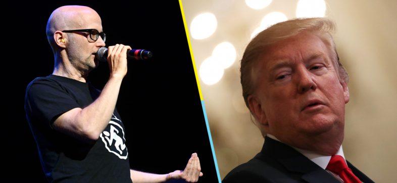 ¿Quiobo? Moby revela que una vez frotó sus genitales contra Donald Trump