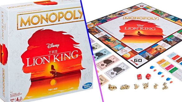 ¡Lo necesitamos! Checa el increíble Monopoly de 'El Rey León'
