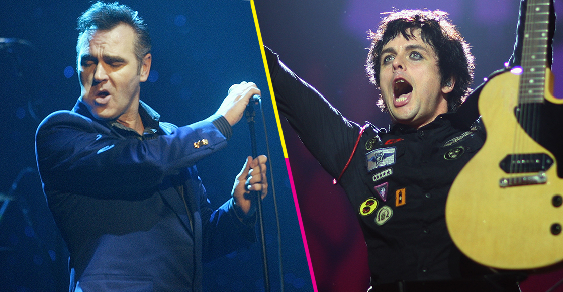 "Música Morrissey coverea ""Wedding Bell Blues"" junto a Billie Joe Armstrong de Green Day Jimena Palacios abril 8 2019 Comparte Comparte"