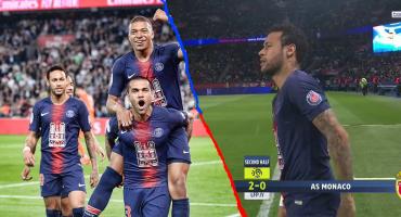 Fiesta completa para el PSG: Campeón, regresó Neymar y hat-trick de Mbappé