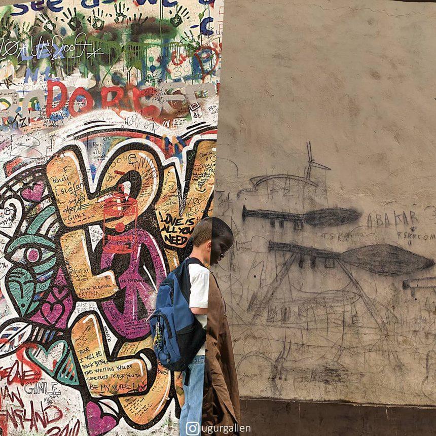 El universo paralelo entre la guerra y la paz, en una galería de fotos Ugurgallen