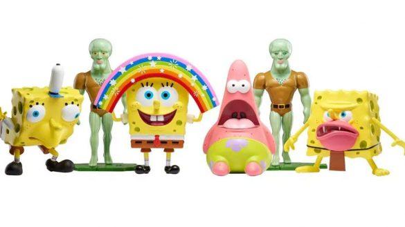 Nickelodeon lanza figuras de los memes de Bob Esponja