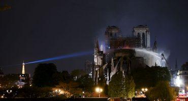 Una buena: la estructura de la catedral de Notre Dame está a salvo