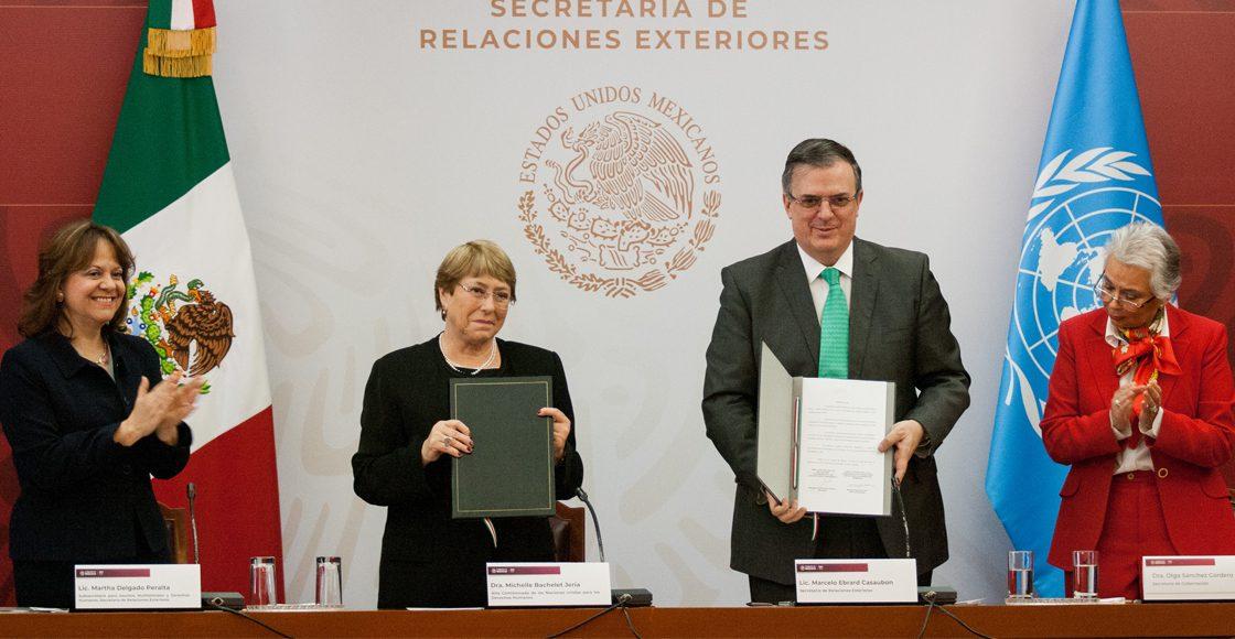 ONU firma acuerdo de cooperación con México por caso Ayotzinapa