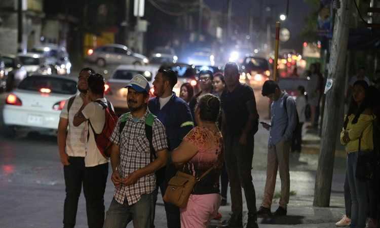 paro transporte de Nuevo León
