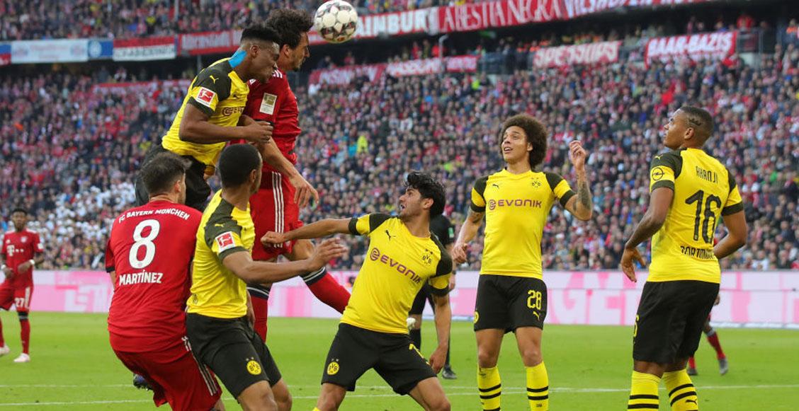 Los 3 partidos que definirán la Bundesliga entre Bayern Múnich y Borussia Dortmund