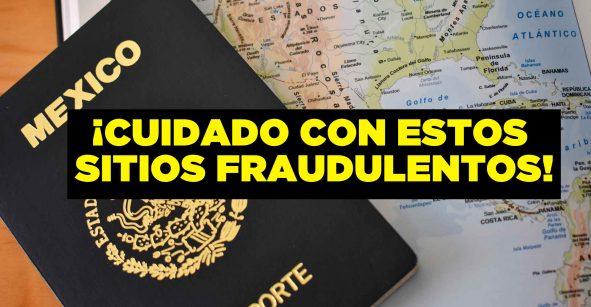 ¡Aguas con las estafas! Reportan sitios fraudulentos para sacar tu pasaporte
