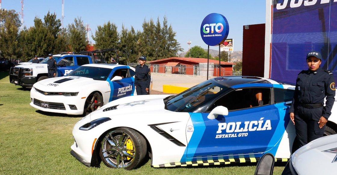 patrullas-guanajuato-autos-lujo-confiscados
