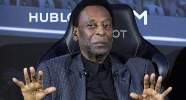 Pelé recién regresó a Brasil y otra vez fue hospitalizado