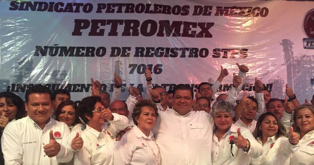 Toma de nota de Petromex