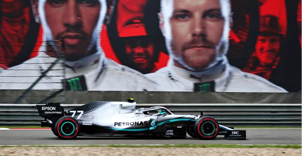 Así arrancarán los pilotos en el Gran Premio de China... Checo tiene salud
