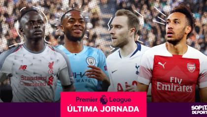 Premier League EN VIVO: Toda la Jornada 38 al momento; se decide campeón y puestos europeos