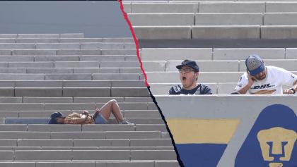 Los bostezos en Ciudad Universitaria en el triunfo de Pumas sobre Tijuana