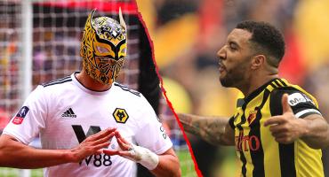 Jugador del Watford se lanza contra Raúl Jiménez: