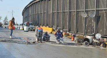 ¡Abusados! Por reparaciones, carriles centrales de Circuito Interior permanecerán cerrados