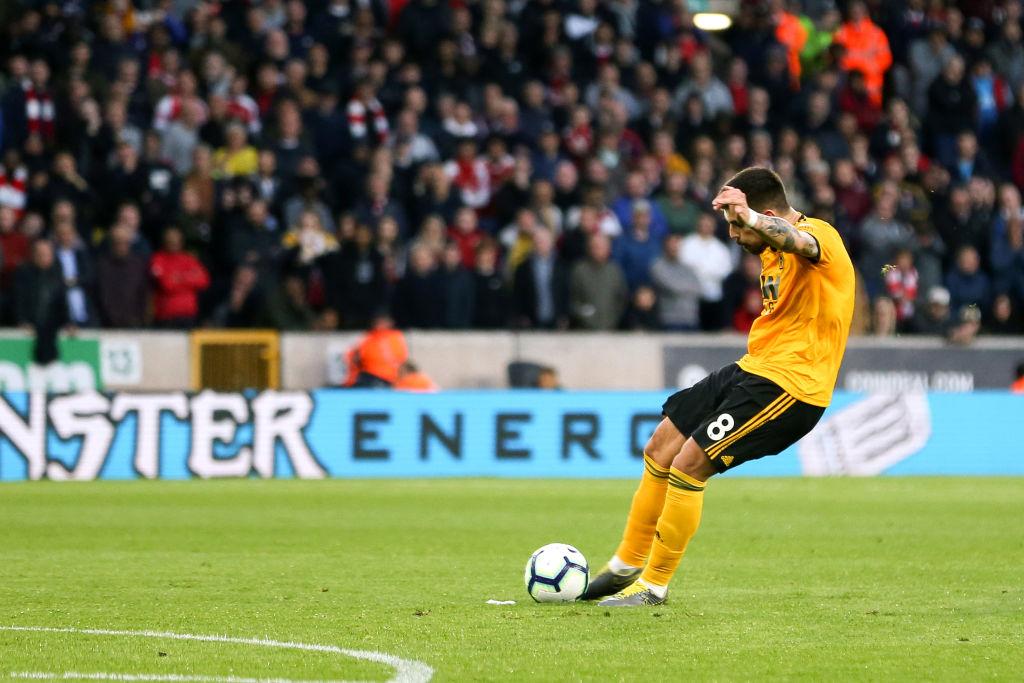 El Wolverhampton golea al Arsenal