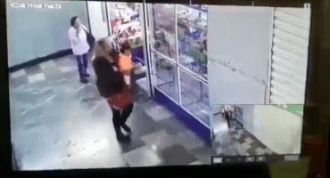 Publican video del robo de la bebé afuera del Hospital General
