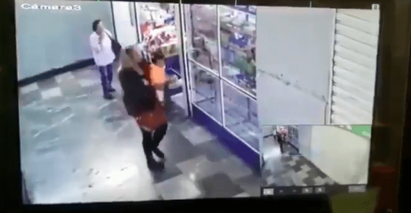 Publican video del robo de la bebé afuera del Hospital General