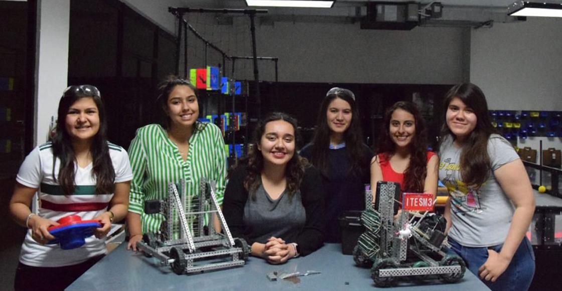 Female Power! Estas jóvenes representarán a México con sus robots