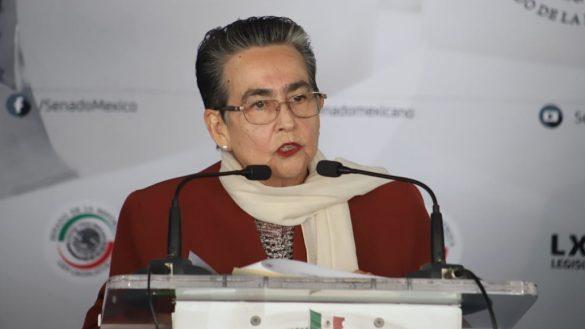 """Senadora morenista afirma que los medios han """"magnificado el drama"""" de Minatitlán"""