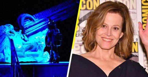 ¿Recuerdan la obra de 'Alien'? Pues fue tan buena ¡que Sigourney Weaver fue a verla!