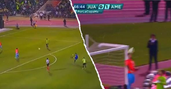 El golazo que iba a hacer Vázquez Mellado, el portero de Juárez, en la Final de la Copa MX ante América