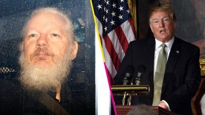 ¡Ahora resulta! Trump asegura no saber nada sobre Wikileaks tras detención de Assange