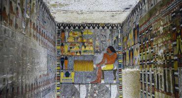 Esta tumba egipcia tiene 4 mil años de existir, ¡pero sus pinturas parecen recién hechas!