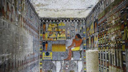 Tumba egipcia bien preservada