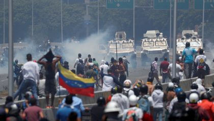 En imágenes: Así las manifestaciones en contra del régimen de Maduro en Venezuela