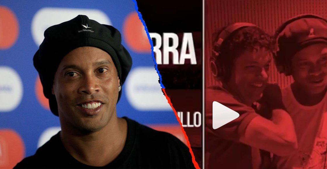 Ronaldinho se pasa al rap y lanza la canción 'Garra'
