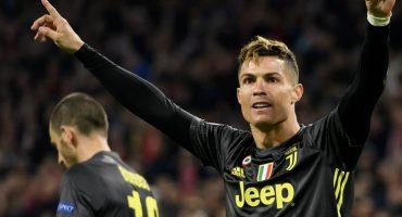 El gol 'lapidario' de Cristiano Ronaldo que pone en jaque al Ajax en la Champions League