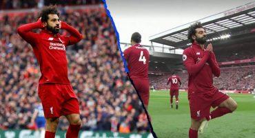 El 'bombazo' de Salah al Chelsea y su épico festejo contra los ataques racistas
