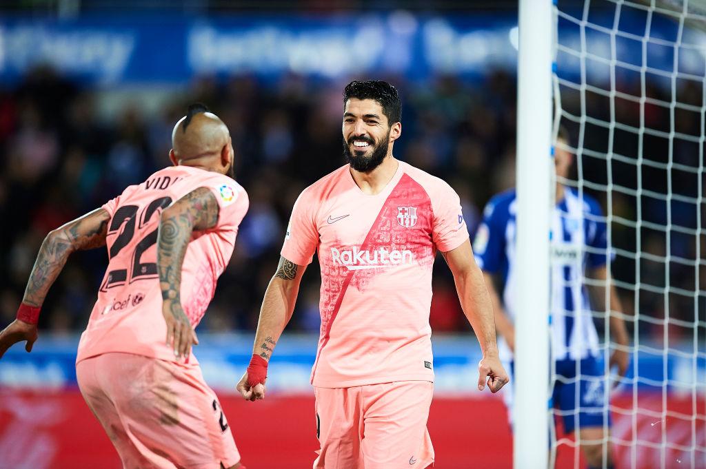 Suárez y Aleñá ponen al Barcelona a 3 puntos de conseguir el título de La Liga