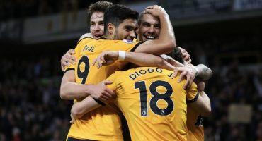 Los goles de la masacre de Raúl Jiménez y los Wolves al Arsenal