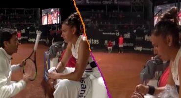 ¿Machista o sensato? El polémico y 'humillante' regaño de un entrenador a tenista española