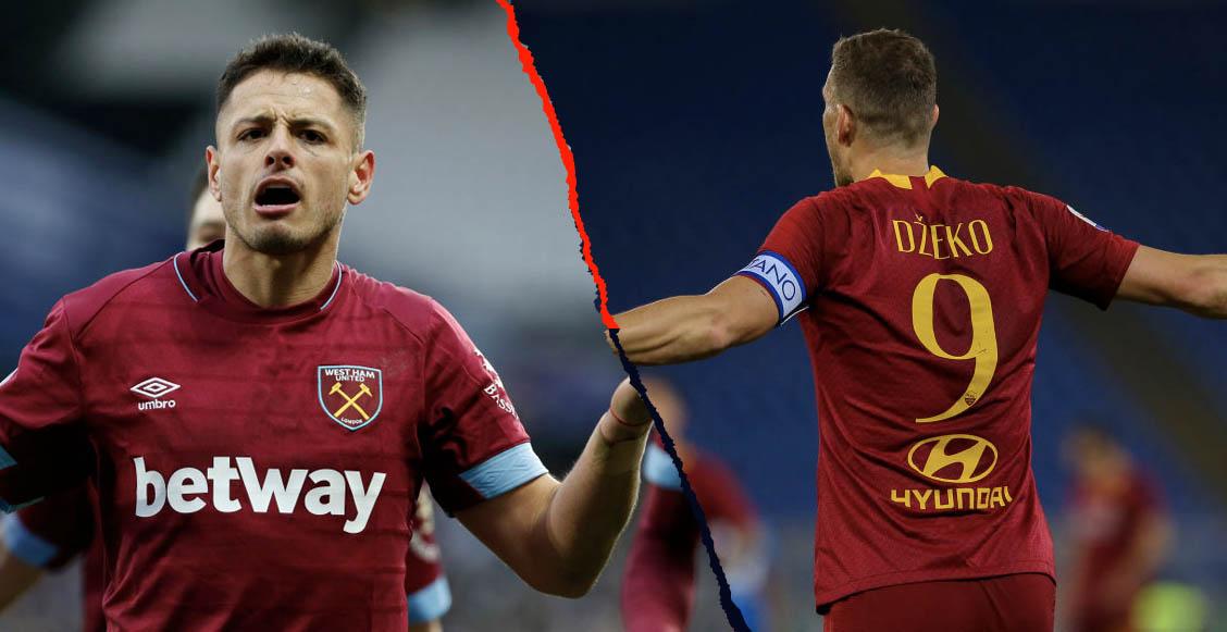 West Ham buscaría fichar a Edin Dzeko; 'Chicharito' sería banca o saldría
