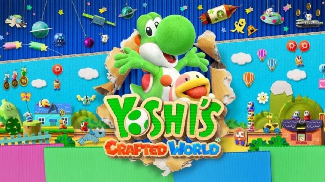 Yoshi's Crafted World es la cura perfecta para el estrés de otros juegos