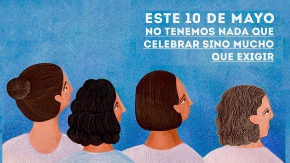Nada que celebrar el 10 de mayo: La marcha de las madres de personas desaparecidas