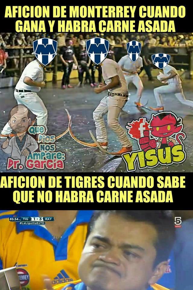 Tigres Femenil armó la 'carnita asada' con sabor a memes a las Rayadas en la Final