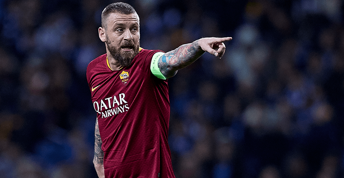 Daniele De Rossi dejará la Roma tras 18 temporadas